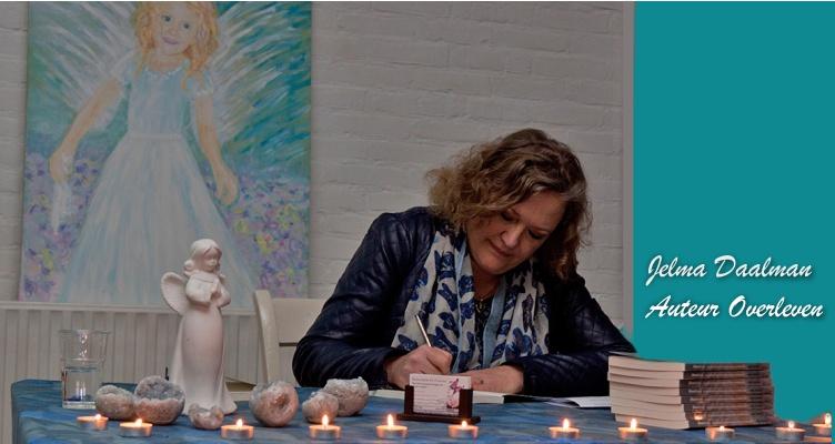 Jelma Daalman signeert haar boeken Overleven